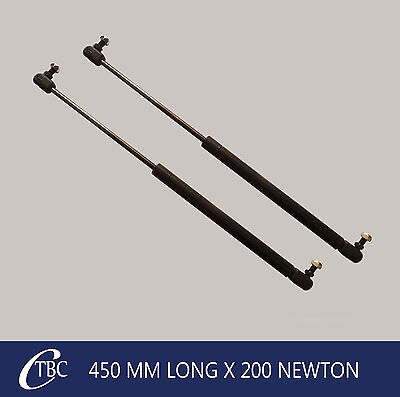 1 Pair 450mm x 200n Metal Gas Struts Caravan Camper Trailer Canopy Toolbox Strut
