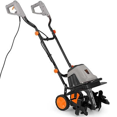 VonHaus Electronic 1400W Tiller/Cultivator With 6 Blades –  280rpm No Load Speed
