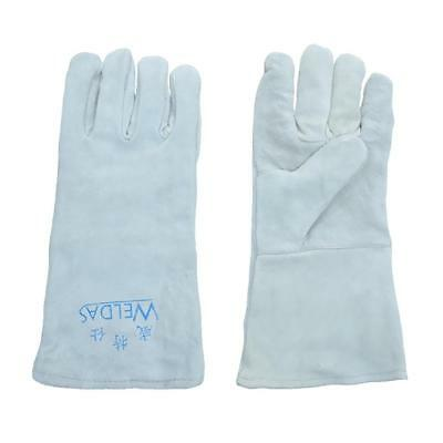 Welding Gloves Cowhide Leather Gloves for Workshop / Factories / gardening L