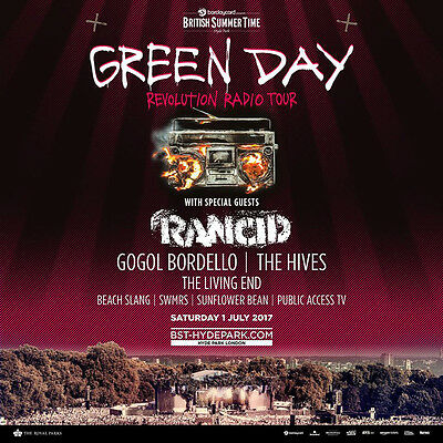 DoubleTree by Hilton Hotel London (30th June - 3rd July) + 2 Green Day BST