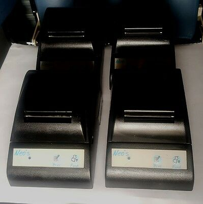 Bulk Lot 4 x Custom Neos Serial Thermal Receipt Printers S33A-PS Made in Italy