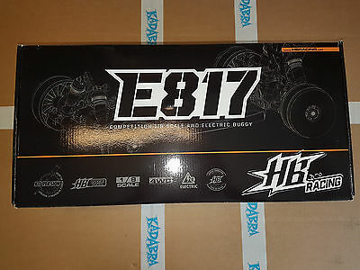 HB 204035 E817 KIT Electric Competition 1/8 4WD Buggy 7630015740351