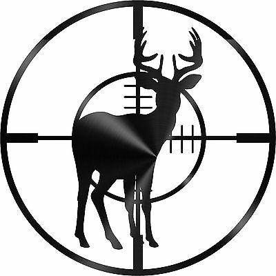 DXF CNC dxf for Plasma Router Clip Art Vector Deer Target Plasmacam