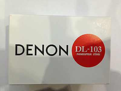 Denon model ● DL-103 ● Low Output MC Cartridge, Made in Japan