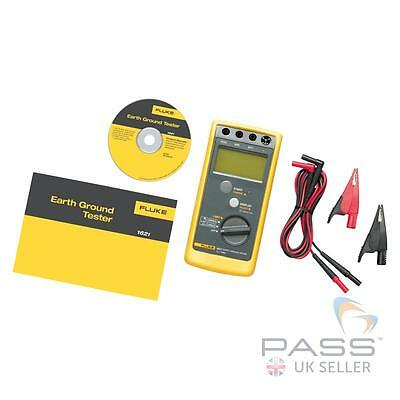 Fluke 1621 Earth Ground Tester+ Accessories  / Genuine Fluke UK Stock