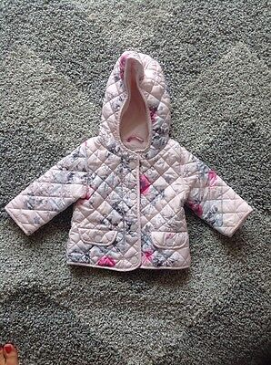 9-12 month next light girls coat