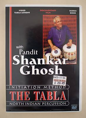 Tabla Video Lessons and Scores Book with Pandit Shankar Ghosh