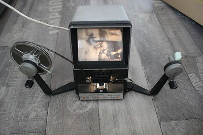 Prinz Oxford 800 Movie Viewer Editor Model P-800 Super 8mm And Super 8mm Film