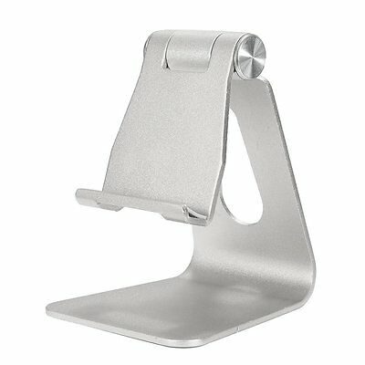 Universal Aluminum Table Desk Mount Stand Holder Cradle for Tablet Mobile P A4W5