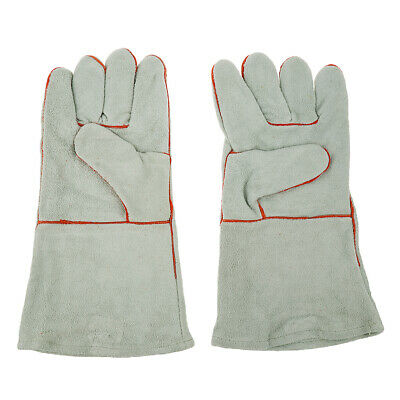 Heavy Duty Welding Gloves Arc MIG Gloves Cowhide Leather Work gloves L - XL