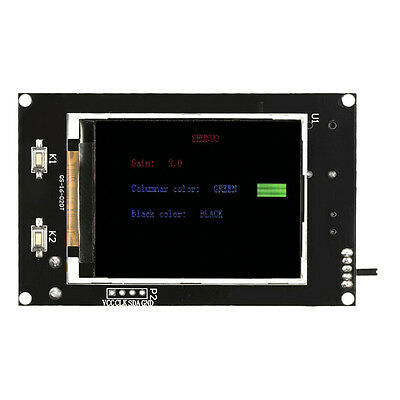 "2.4"" LCD Music Spectrum Display Analyzer MP3 PC Amplifier Audio Level Indic J3C2"