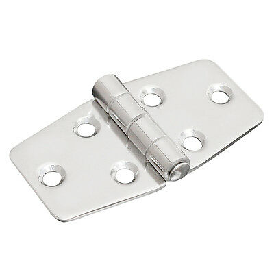 "1x 3"" Stainless Steel Boat Marine Grade Flush Door Hatch Compartment Hinges D7X0"