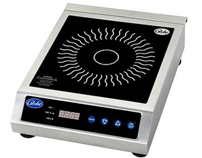 Globe GIR18 Induction Range, Countertop, Electric