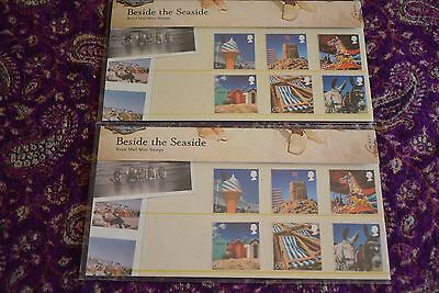 Royal Mail Mint Stamps x 2 Beside the seaside
