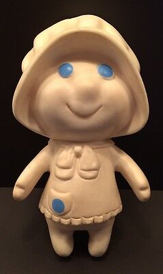 PILLSBURY DOUGHGIRL Doughboy Wife 1972 VINTAGE DOLL Poppie Fresh VINYL TOY VTG
