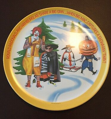 Vintage MacDonald's Plate from 1977