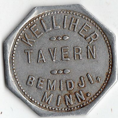 Bemidji Minnesota Kelliher Tavern Merchant Good For Trade Token