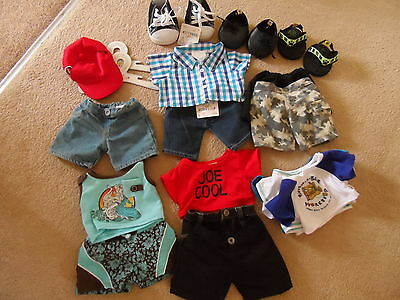 Build a Bear Bundle of Clothes Excellent Condition some New