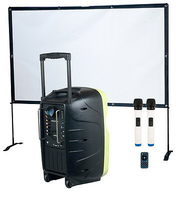 Vocopro - Worlds First Battery Powered Portable PA with LED Video Projector  K-C