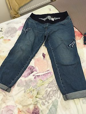 Next Maternity Jeans Size 16 New