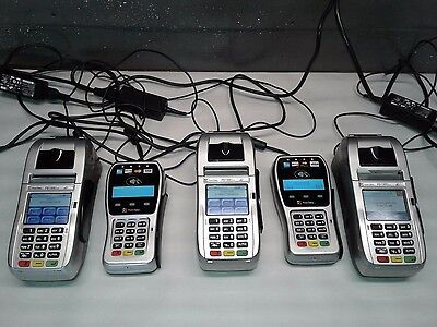 First Data 3 FD130 Duo 2 FD-35 Smart Chip Reader Pin Pad Credit Card Machines