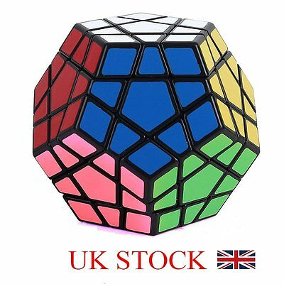 12 Sides Rubik's Cube Puzzle Mind Game Toy Rubiks Rubix Cube Classic Cube Gift