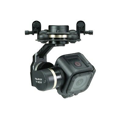 Tarot TL3T02 T-3D IV 3 Axis Brushless Gimbal for Gopro Hero 4 SESSION Camera