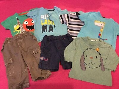 small baby boys clothes bundle, age 3-6 months. vgc.