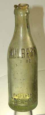 Mulberry Fla Coca Cola Bottle Straight Side
