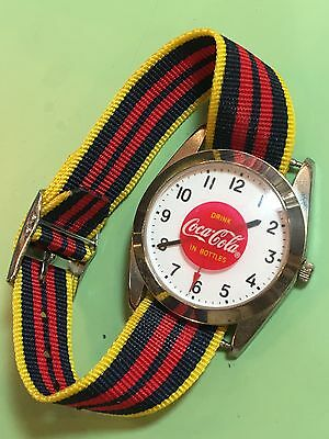 Vintage Coca Cola Quartz Watch All Working