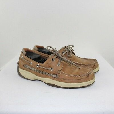 SPERRY Men's Tan Leather Boat Shoes Size 8M