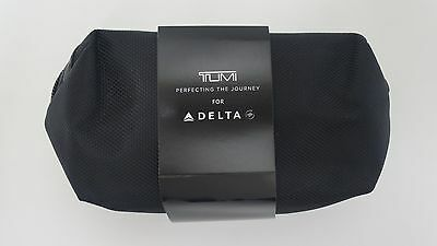 Latest KIEHL'S LOTION & BALM TUMI DELTA AIRLINES Black SOFT BAG AMENITY KIT NEW