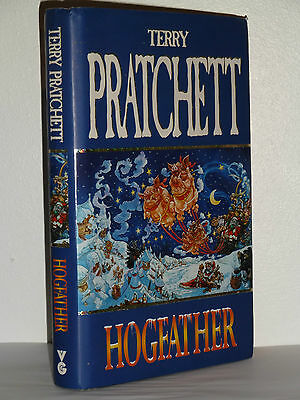 Hogfather By Terry Pratchett, Signed 1St Edition. In Good Condition
