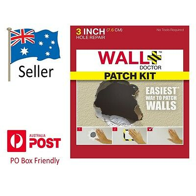 Wall Doctor Plasterboard Gyprock Patch Repair Kit