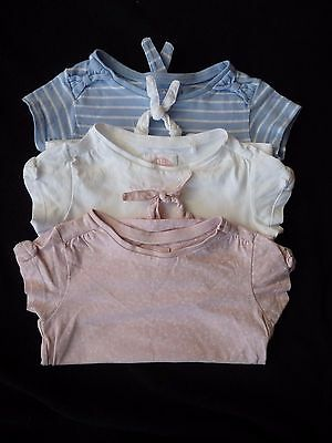 Girl's 12-18 months 3 pack of t shirts from TU
