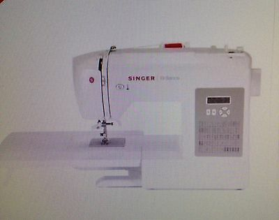 Singer 6180 Brilliance Sewing Machine Brand new Free-arm + table 20 thread reels