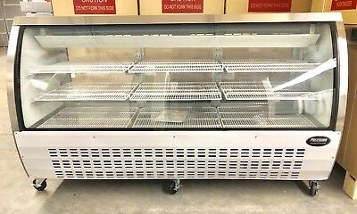 "DELI CASE NEW 72"" 82"" SHOW CASE REFRIGERATOR COOLER DISPLAY Bakery Pastry MEAT"