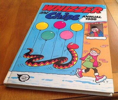 Whizzer And Chips Annual 1986