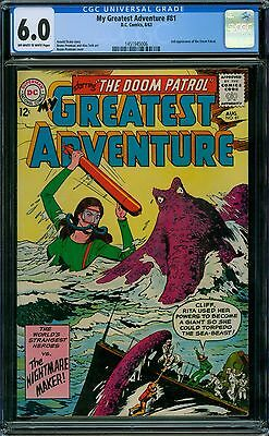My Greatest Adventure 81 CGC 6.0 - OW/W Pages