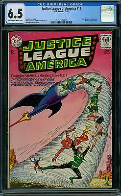 Justice League of America 17 CGC 6.5 - OW/W Pages