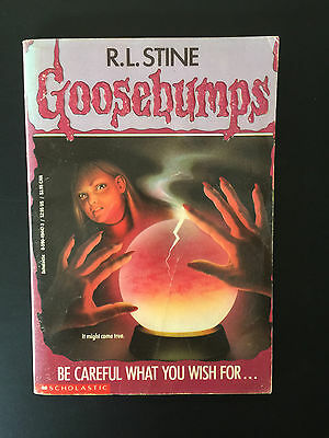 R. L. Stine Goosebumps # 12 be careful what you wish for... ~ FAST free post