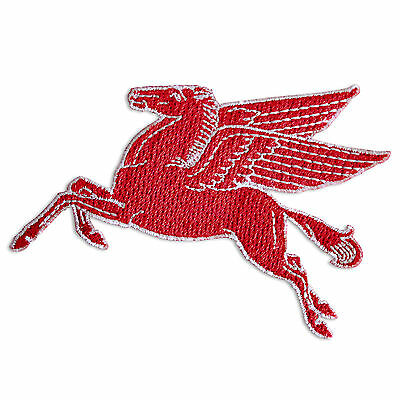 Collectable Embroidered Mobile Oil Pegasus Sew On patch
