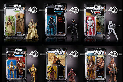 """Star Wars Black Series 6"""" 40th Anniversary Action Figures Wave 2 - PRE ORDER"""