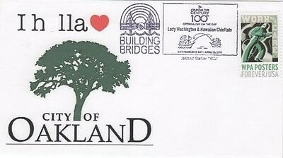 I H_lla Love Oakland Building Bridges Opening Day On the Bay Boat Parade