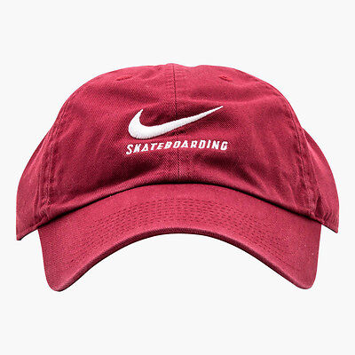 Nike Sb H86 Adjustable Hat Skateboarding Twill Heritage Maroon 828635 677 Nwt