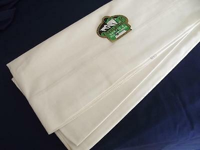 Unused Antique 1930 May Co Everlasting Muslin Flat Double Sheet 80x94 Cotton