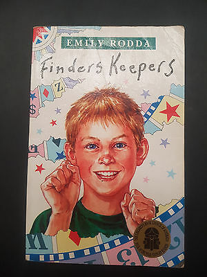 Emily Rodda ~ Finders Keepers ~ book of the year 1991 ~ free post ~ MED