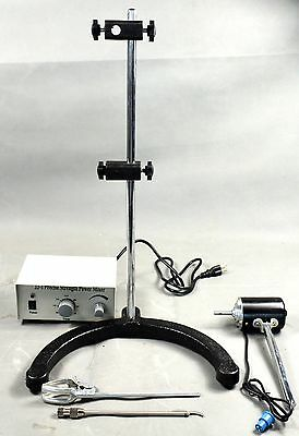 Electric Overhead Stirrer MixerHeight Adjustable Drum Mix Biochemical Laboratory