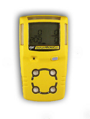 BW Technologies GasAlert MicroClip Multi-gas Detector With Charger