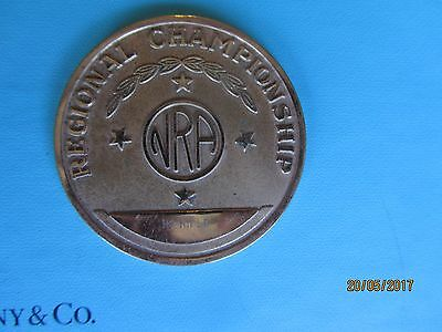 Nra Regional Shooting Championships Hp Rifle Division Medal Token Large